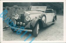 1930's Rolls Royce 20/25 Drophead Coupre1960's Dealers Stock Photo 5 x 3.5 inch