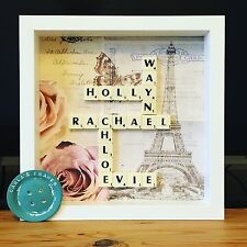 Handmade Frames Scrabble Lego Button Family Tree and Lots More