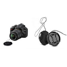 Durable 52 mm Front Lens Cap Center Snap on Lens cap for Nikon + Leash PR