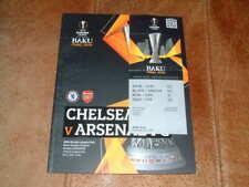 2019 Europa League Final Arsenal v Chelsea Programme + Ticket