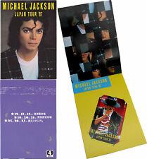 Michael Jackson Carte Telephone Phonecard Calling Phone Card Bad Tour JAPAN 1987