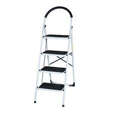 NEW EN131 Folding 4 Step Ladder Home Depot Lightweight 300 lb Capacity Anti-slip