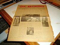 rivista CINE-GAZZETTINO anno III° N. 3 - 21/1/1928 LA SIGNORA DALLE CAMELIE