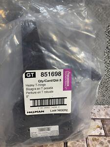 Hillman Heavy T-Hinges Lot Of 5, NIB