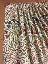 Iliv Art Deco Estilo Tiffany (William Morris) Cortinas mano cosida, 5 Colores