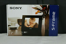 "Sony DPF-D72N 7"" Brand New Digital Picture Frame Reduced Price"
