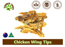 CHICKEN WING TIP NATURAL TEETH CLEANSER LOW FAT REDUCED RISK OF CANCER DOG TREAT
