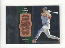 1998 SPx Finite #120 Mark McGwire Cardinals /9000
