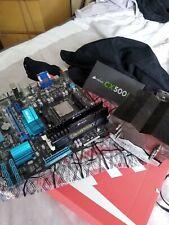 PC Components Bundle - AM3+ Motherboard, CPU, Aftermarket Cooler, Memory & PSU.