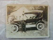 Vintage Car Photo Model T Ford Automobile 779