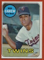 1969 Topps #510 Rod Carew EX-EXMINT+ Minnesota Twins FREE SHIPPING