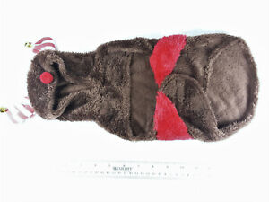 """DOG """"REINDEER"""" COSTUME SIZE SMALL, WORN ONCE"""