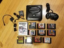 Sega Genesis MK-1631 Console Bundle with 11 games, controller. Tested!