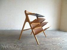 Stylischer Beistelltisch Tisch Ablage Zeitungsständer Table Magg Style 50er 60er