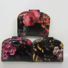 Trifold Floral Purses & Wallets for Women with Photo Holder