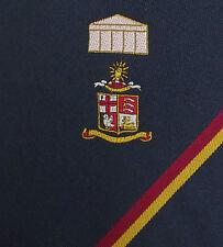 Corporate tie Coat of arms British Museum St George Cross Seaxes Herts Bucks