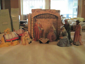 O'Holy Night Nativity Set....1989.....made by Avon