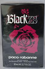 Black XS by Paco Rabanne for Women EDT 2.7 oz 80 ml Spray  New In box