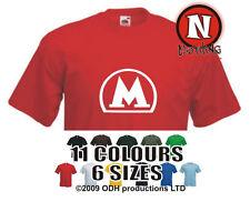 Moscow metro T-shirt subway underground mass transit Russian tee teeshirt