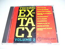 techno extacy volume 2 ( rare early hardcore cd ) 1991