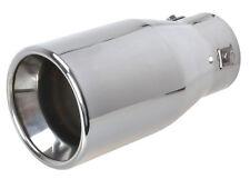 Auspuffblende Endrohr Edelstahl 1 x 102 mm rund für Auspuffrohre bis max. 6,6 cm