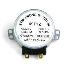 New microwave turntable synchronous motor 21VAC 21V AC