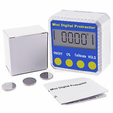 Electronic Digital Bevel Box  Inclinometer Clinometer Protractor Magnetic Base