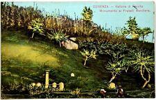 Cartolina Formato Piccolo - Cosenza - Vallone Di Provito - Monumento Ai Fratelli