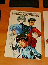 NEON GENESIS EVANGELION RARE PRISM HOLO CARD NO.45 SHINJI MADE IN JAPAN 1997 NM