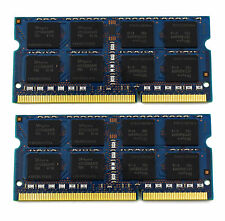8GB (2 X 4GB) DDR3 PC3-12800S 1600MHZ SO-DIMM RAM 204Pin Notebook Laptop Me