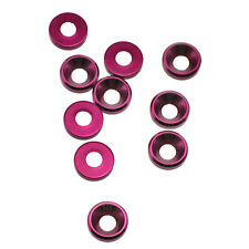 OFNA Aluminum 4mm Purple Concave Washers (10) 10980