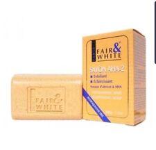 Fair & exfoliating soap
