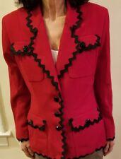 Bergdorf Goodman on the Plaza New York women's blazer Size 8 Made in USA
