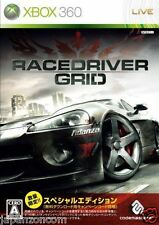 Used Xbox 360  Race driver grid  MICROSOFT JAPAN JP JAPANESE JAPONAIS IMPORT