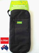 Korjo Unisex Travel Wallet Passport Holder Document zippered Durable Organiser