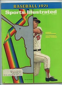 Sports Illustrated Boog Powell Orioles Baseball Issue 1971 Kentucky Derby