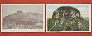 1908 & 1916 PILOT MOUNTAIN North Carolina NC Near WINSTON-SALEM, MOUNT AIRY