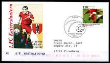 Deutscher Fußballmeister 1998 - 1.FC Kaiserslautern. FDC(1)-Brief.Bonn. BRD 1998