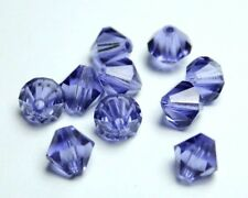 Preciosa Perlen tanzanite lila Rondell Beads 7 mm *** high quality ***