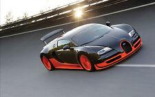 "24"" x 36"" Poster Bugatti Veyron Super Sport"