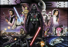 STAR WARS DARTH VADER COLLAGE Photo Wallpaper Wall Mural  368X254cm