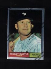 1996 TOPPS MANTLE FINEST #11 MICKEY MANTLE (1961 #300)* (B)