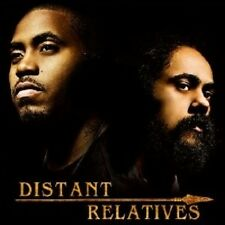 """NAS/DAMIAN """"JR GONG"""" MARLEY """"DISTANT RELATIVES"""" CD NEW+"""