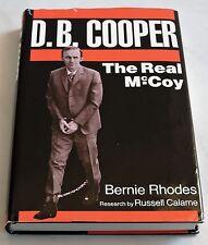 D B COOPER airliner hijacker McCoy? ransom OREGON parachute HARDBACK SIGNED
