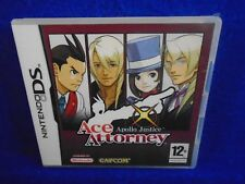 ds ACE ATTORNEY Apollo Justice Game Lite DSi 3DS PAL UK REGION FREE