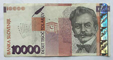 More details for slovenia: 10000 tolarjev banknote from 2003 in fine+ condition. bc8699495