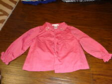 Janie And Jack 2T Pink Floral Shirt Blouse