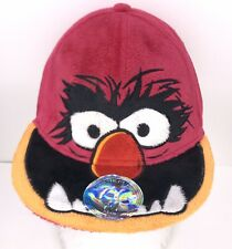 "The Muppets Animal Adult 7-1/4"" Baseball Hat Flatbill Cap Fuzzy Fur Stretch-back"
