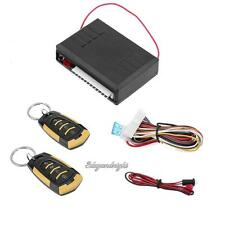 Car Alarm 2 Remote Control Central Kit Door Locking Vehicle Keyless Entry System