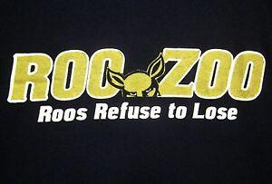 UNIVERSITY AKRON Zips med T shirt OHIO Roo Zoo tee 2009 InfoCision Stadium